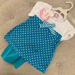Other - ✅ Girls 18 Month Polka Dot Set
